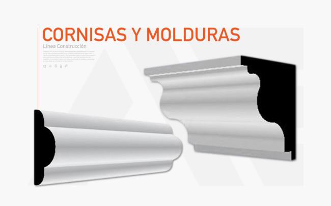 Construcci n molduras de unicel para construcci n - Molduras para techos y paredes ...